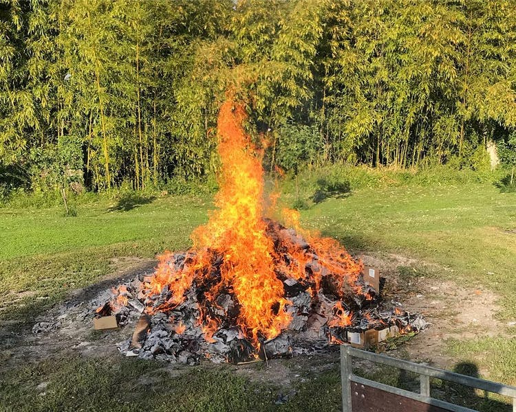 Bonfire: Behind the scenes at Château Valcreuse in La Roche Posay
