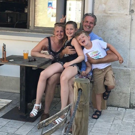 Family fun in France