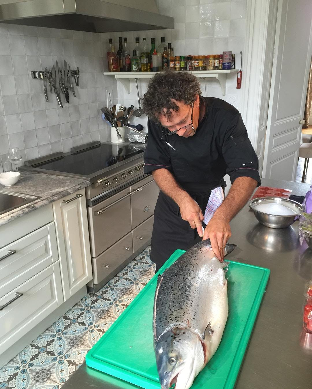 Chef in the kitchen: Behind the scenes at Château Valcreuse in La Roche Posay