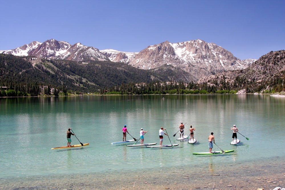SUP on June Lake