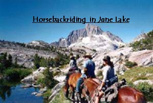 Frontier Pack Station, horseback riding in the June Lake Loop