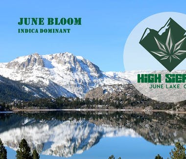 High Sierra in June Lake