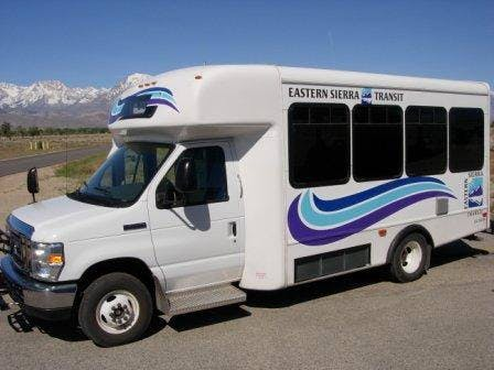Sumhmer shuttle throughout the June Lake Village