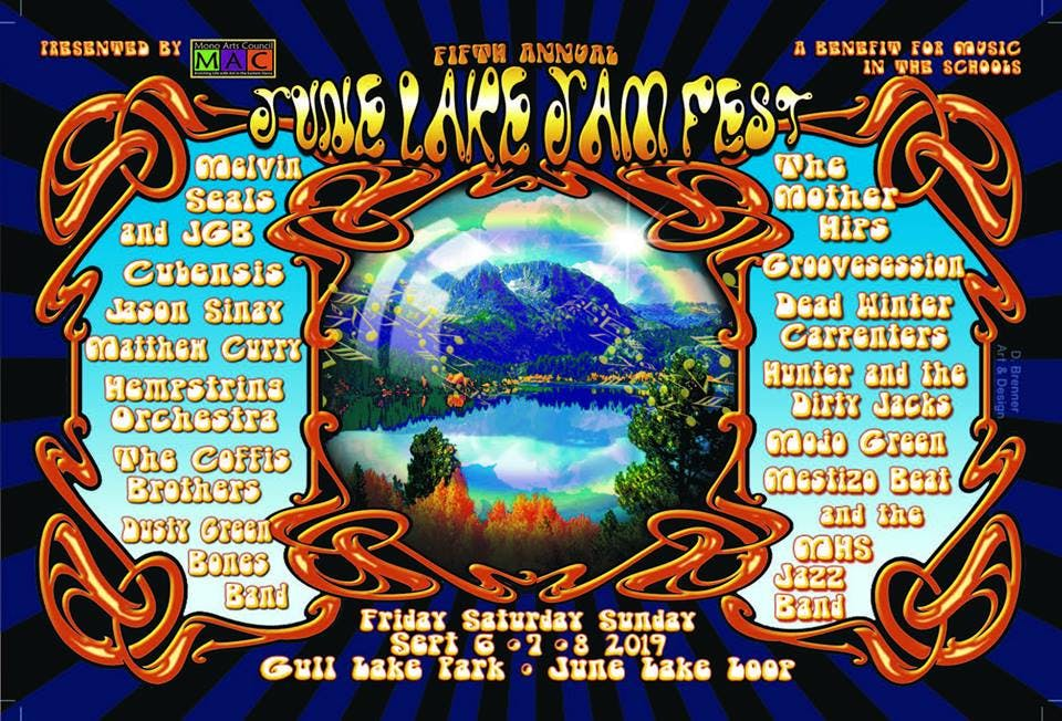 June Lake Jam Fest, Sept 6-7, 2019