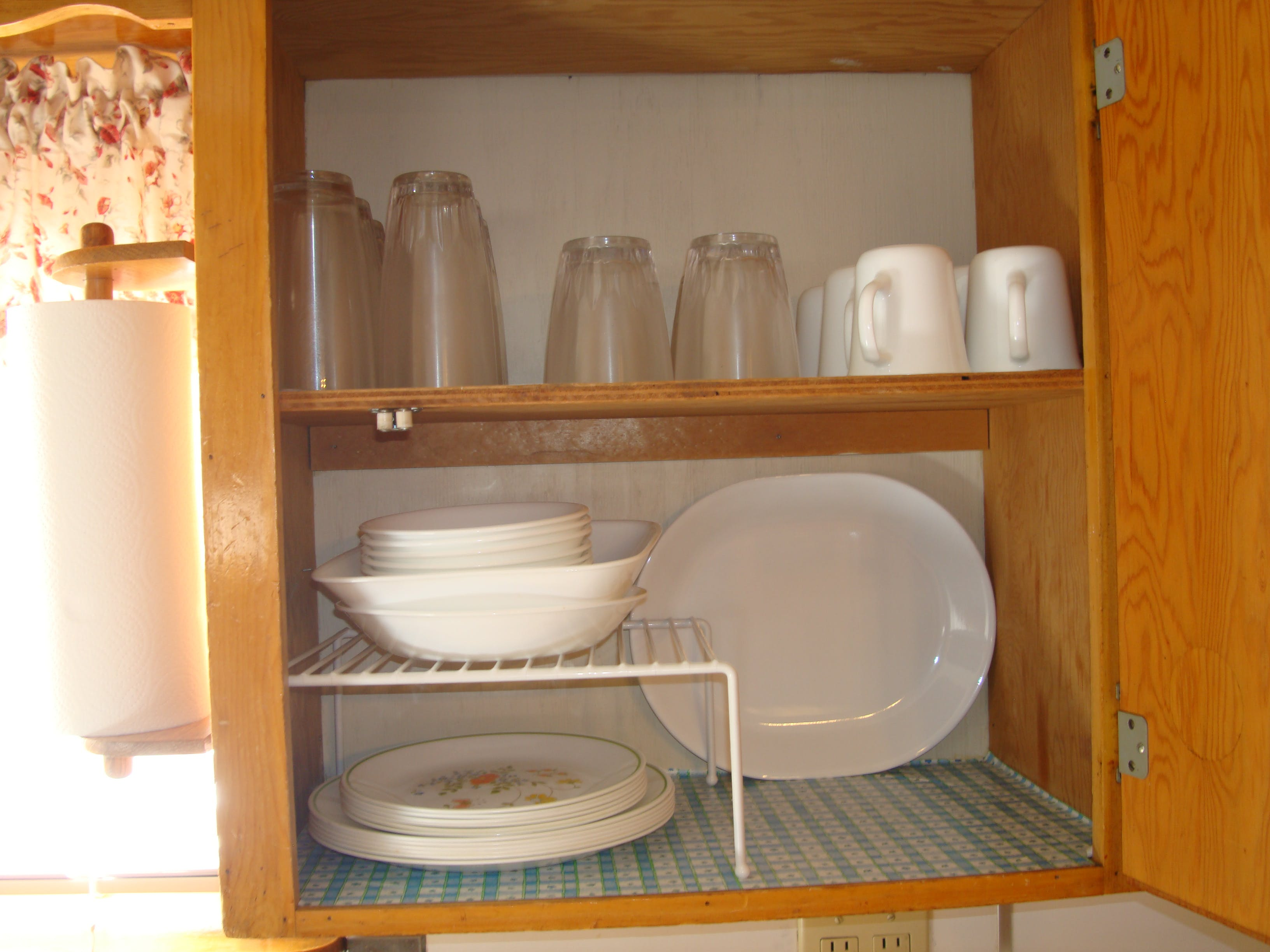 Main House kitchen cupboard