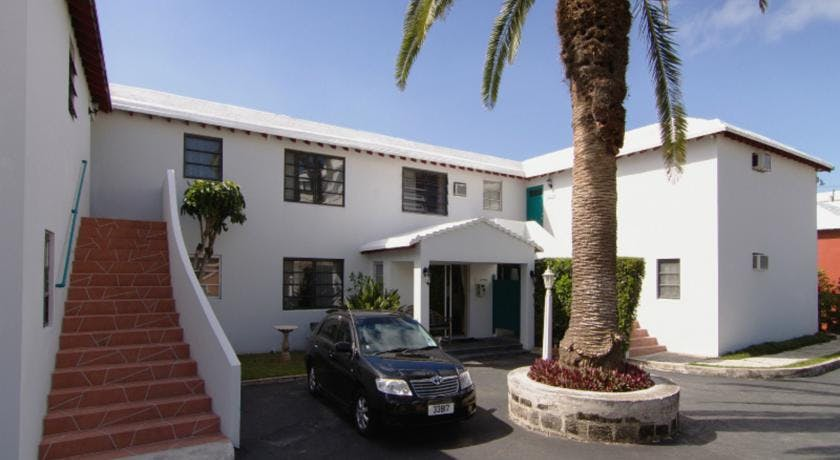 The Sandpiper Apartments on South Shore Road, Warwick, Bermuda