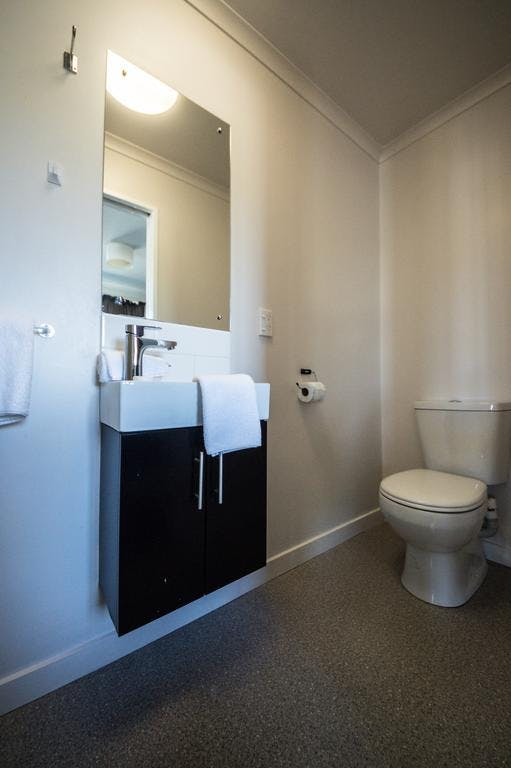 Toilet in ensuite unit 2