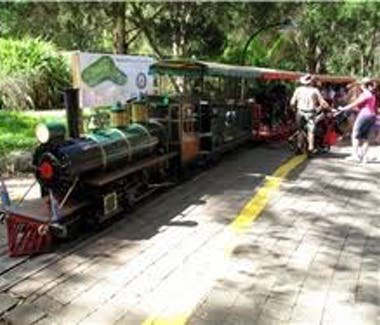 Currumbin Wild Life Sancutuary Train
