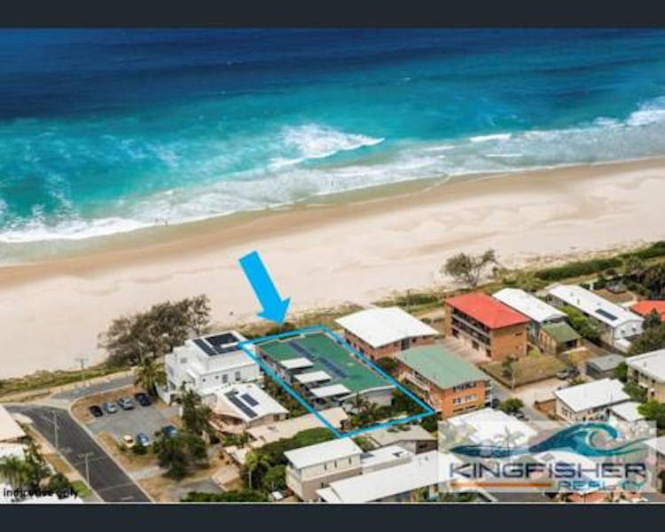 Birds eye view, Sandbox Apartments, Tugun