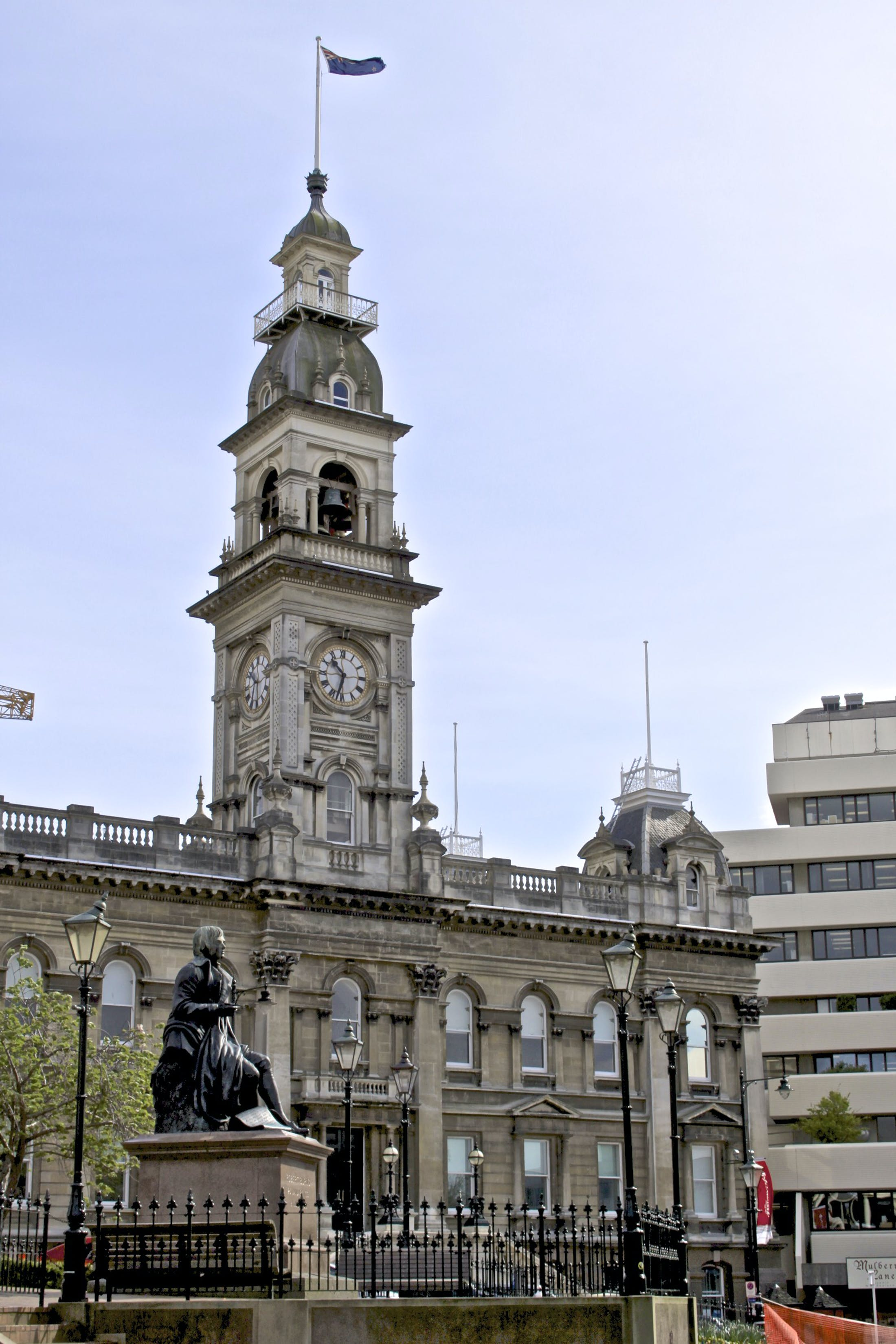 Dunedin Town Hall in the Octagon