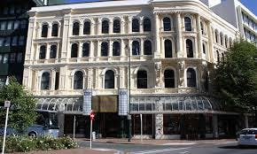 Dunedin Casino on the corner of lower High Street and Princes Street