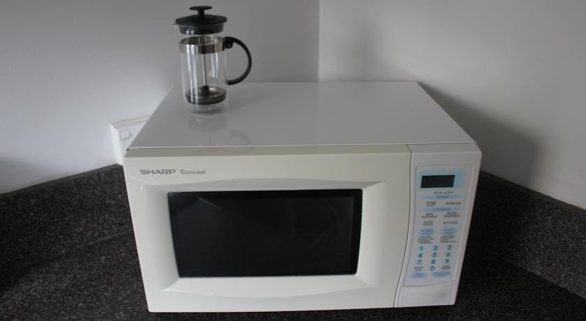 Apartment microwave