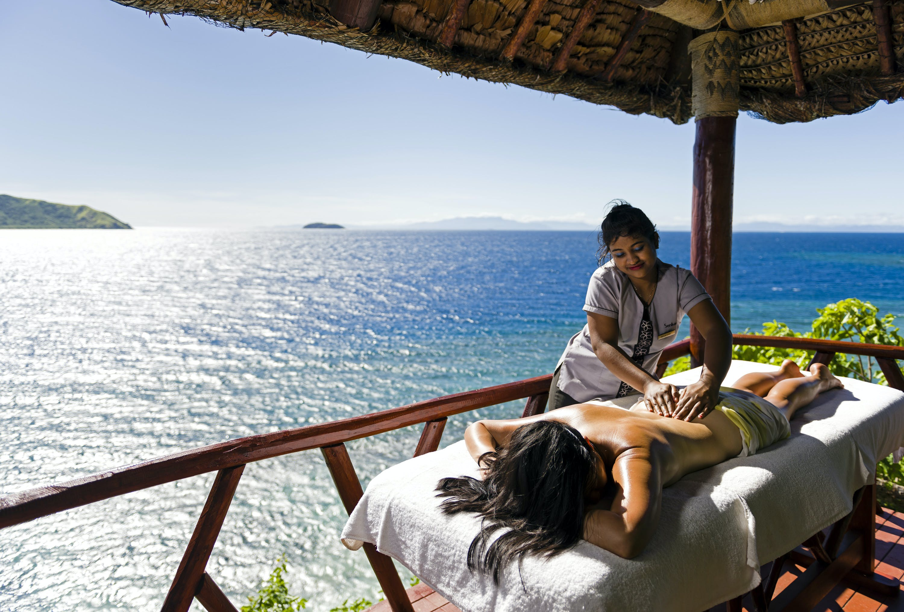 Massage Matamanoa Ocean View