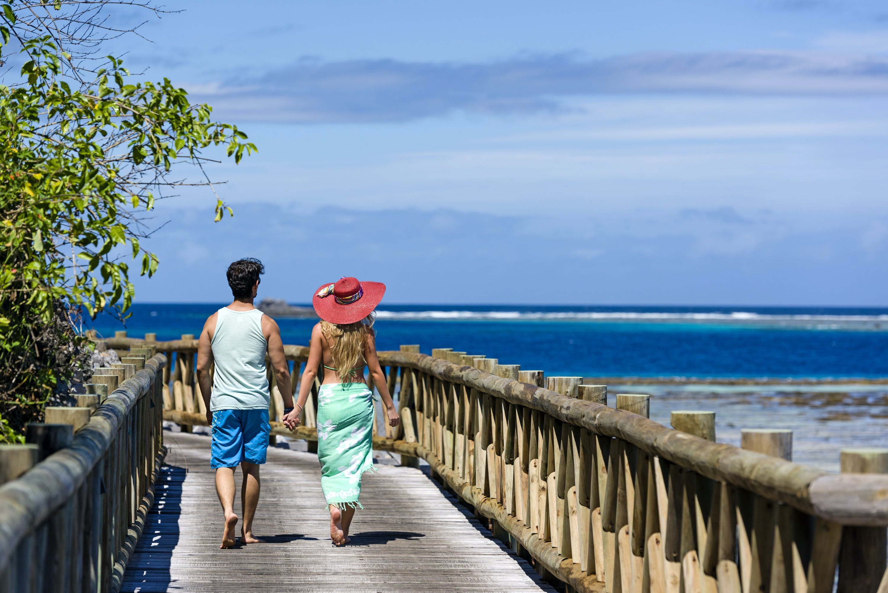 Boardwalk at Matamanoa