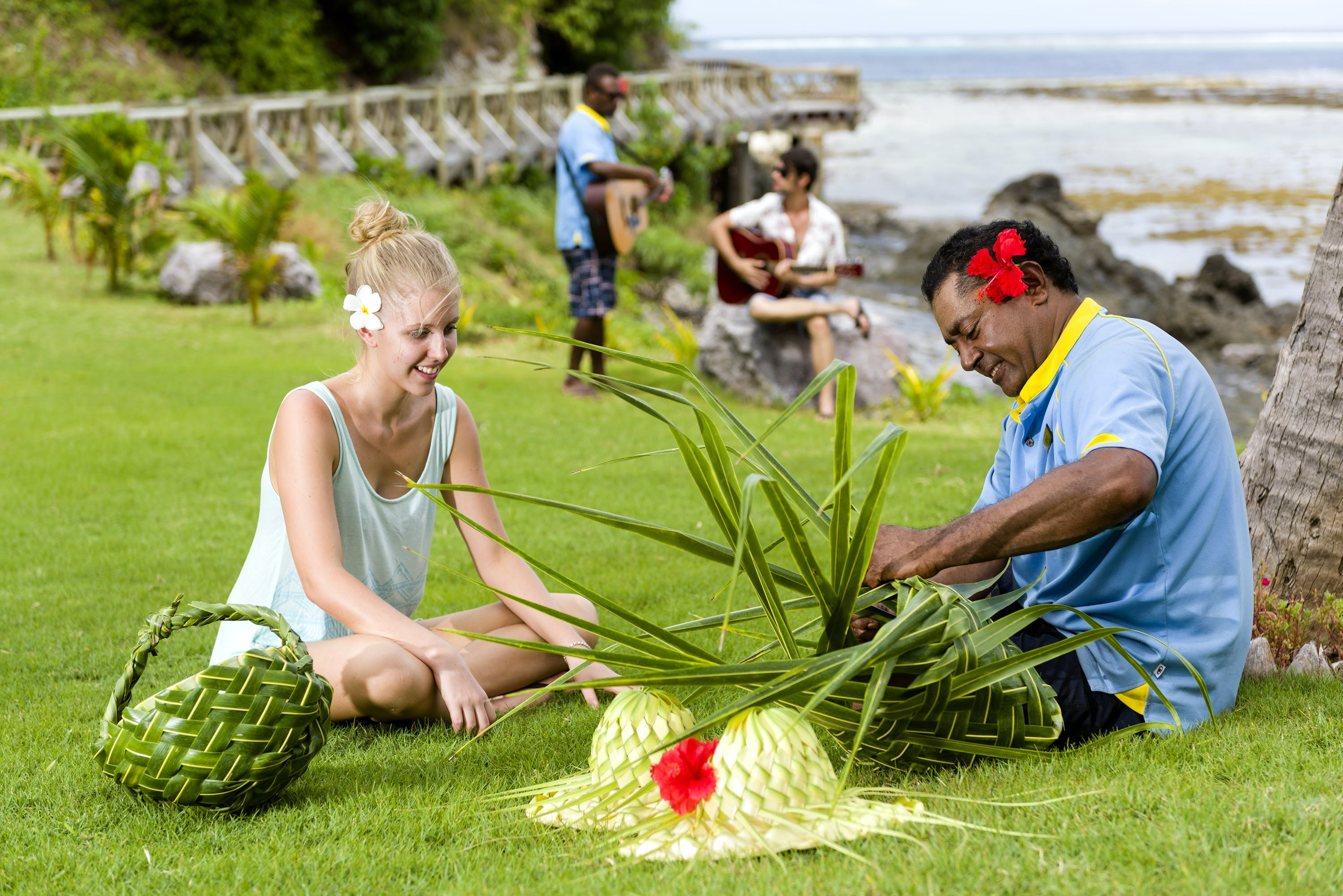 activities at Matamanoa