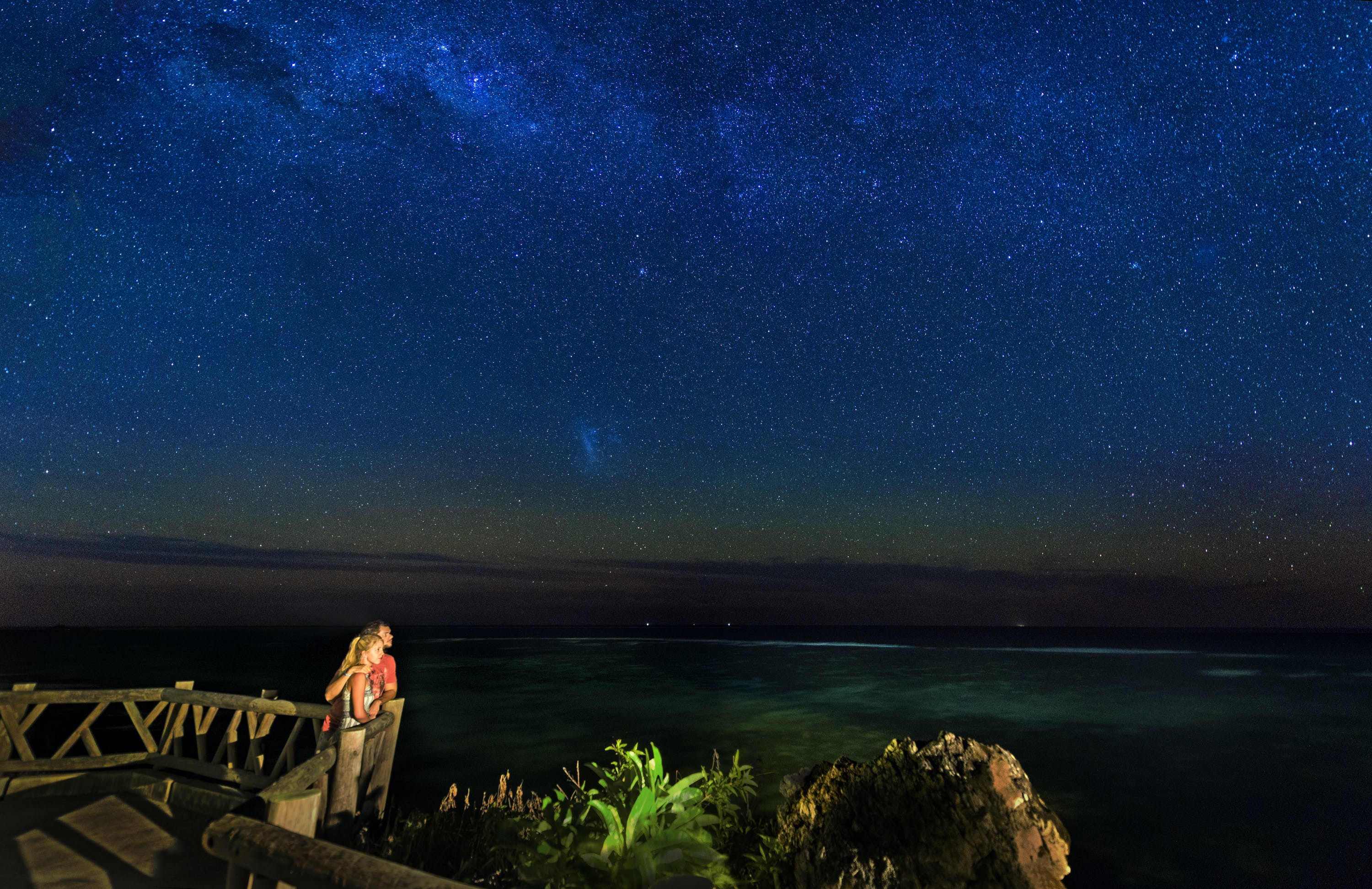 star gazing at Matamanoa