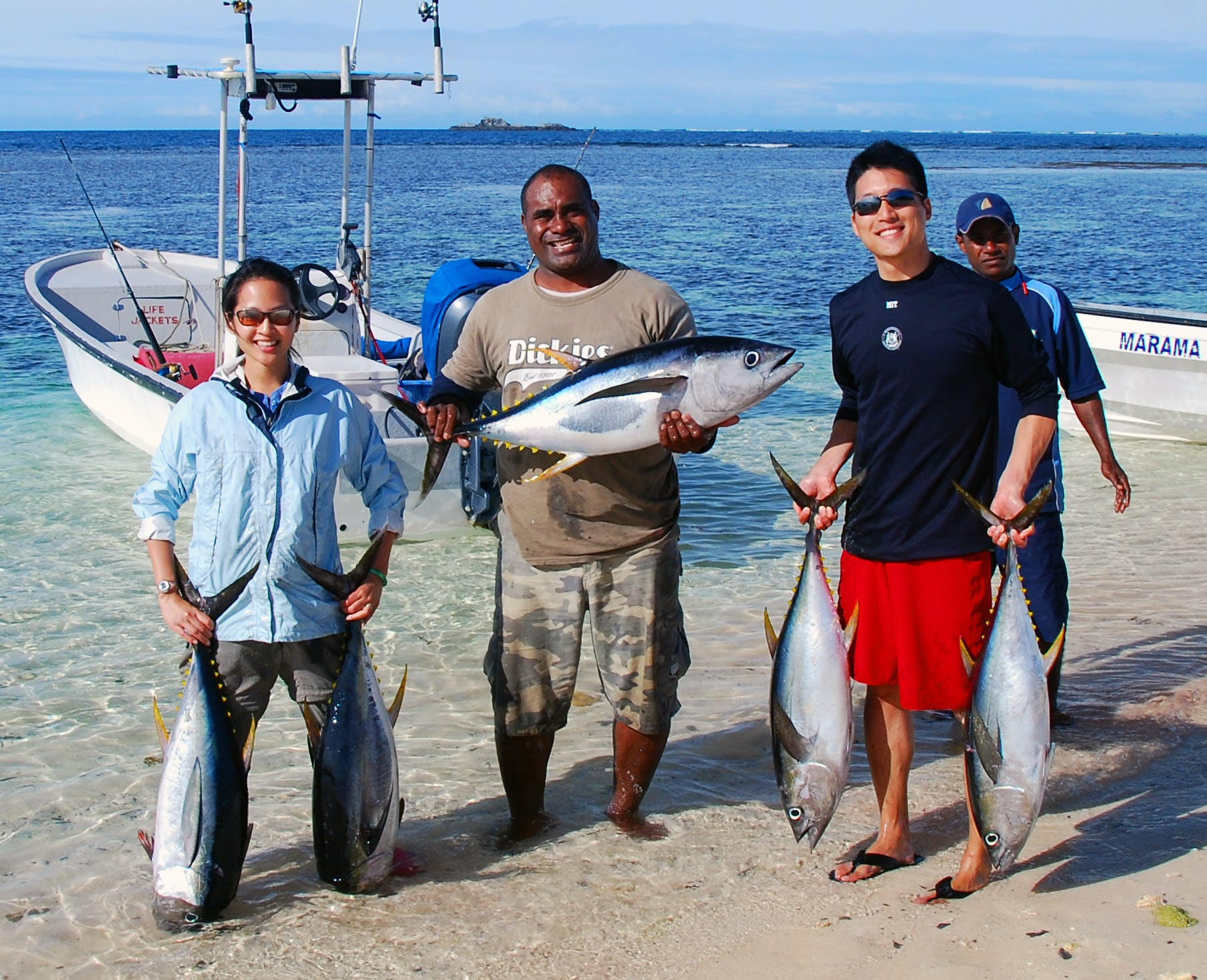 Fishing Matamanoa