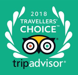 Tripadvisor 2018 Travellers' choice award