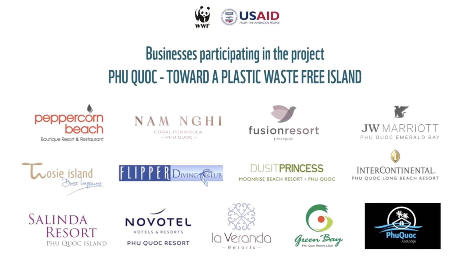 WWF Plastic Reduction Waste Free Project