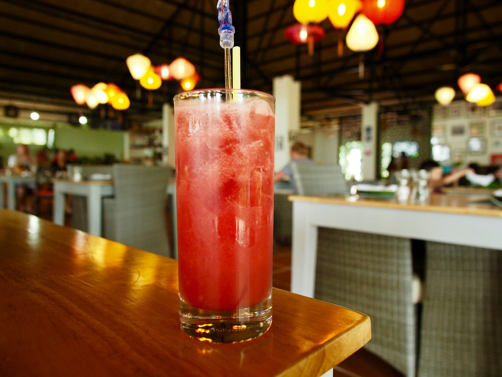 Peppercorn Beach Fresh Watermelon Juice