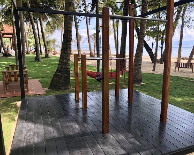Phu Quoc Gym and fitness facilities beachview