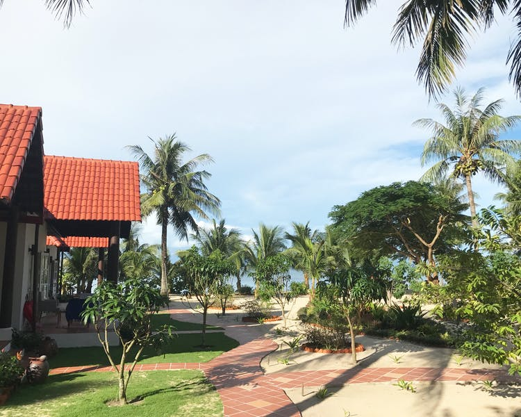 Phu Quoc Resort Beach Pathway at Peppercorn Beach