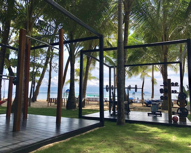 Phu Quoc Gym and fitness facilities beachside