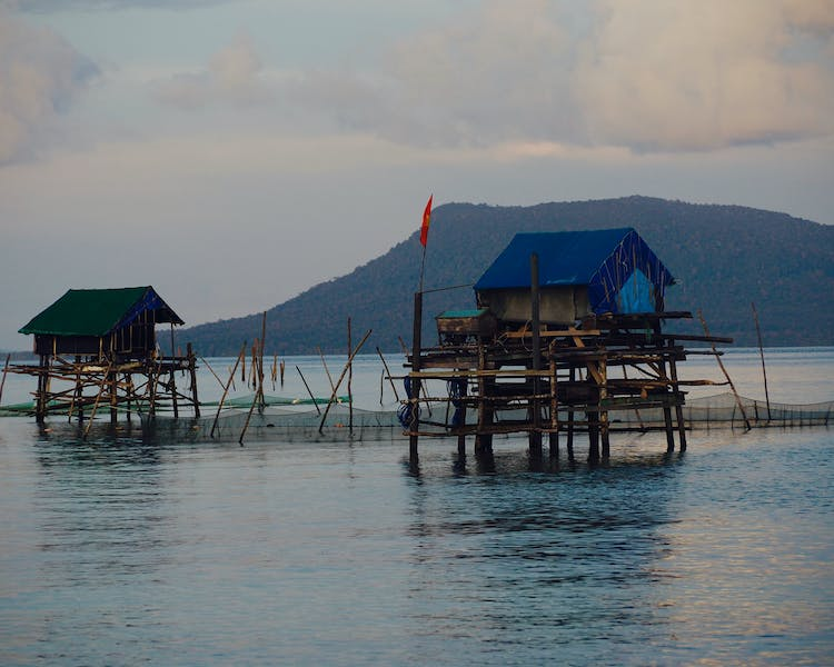 Fishing Huts in Phu Quoc