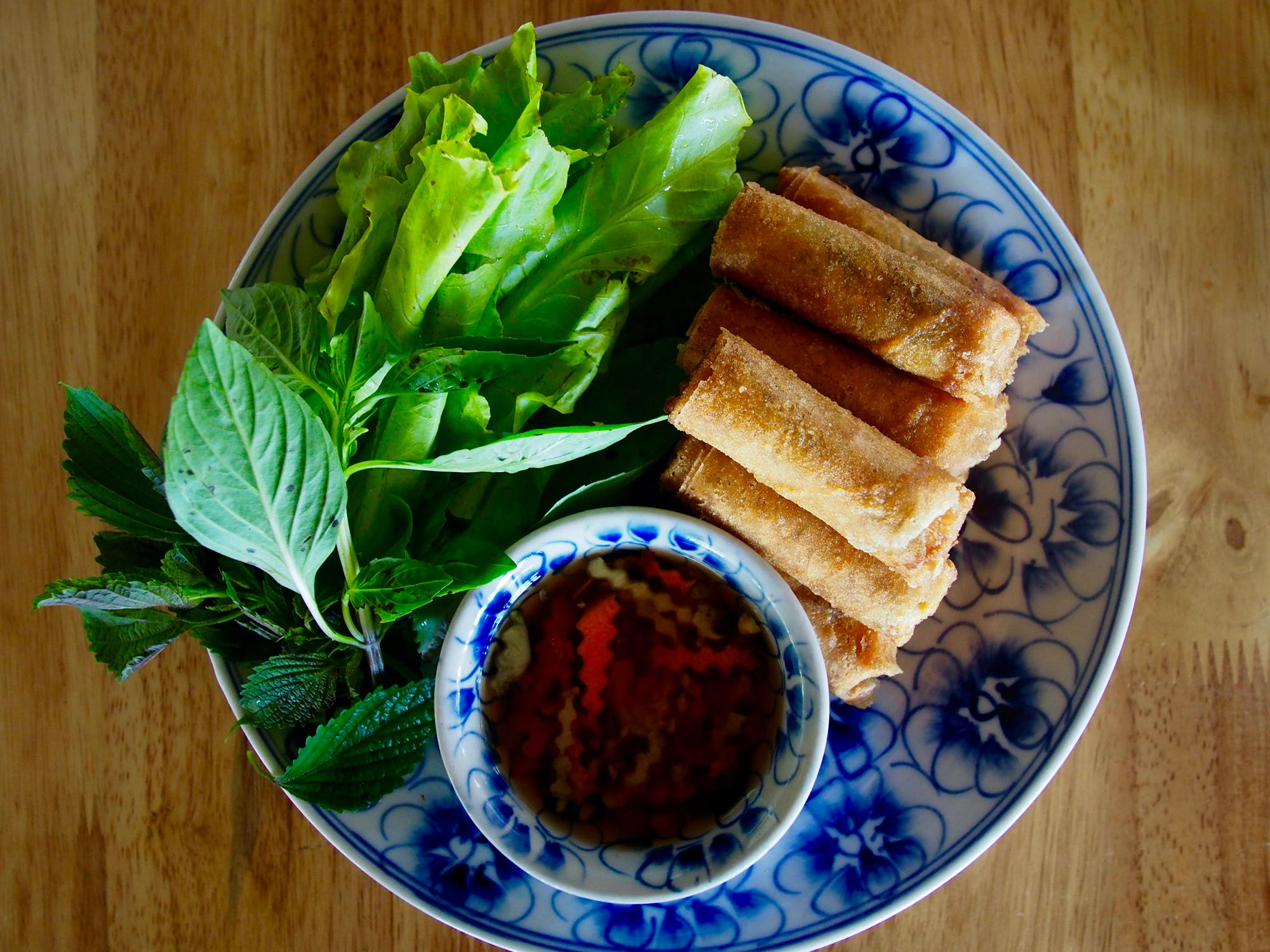 Peppercorn Beach Fried Spring Rolls