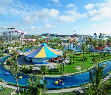 Phu Quoc Amusement Park and Water Slides near Peppercorn Beach