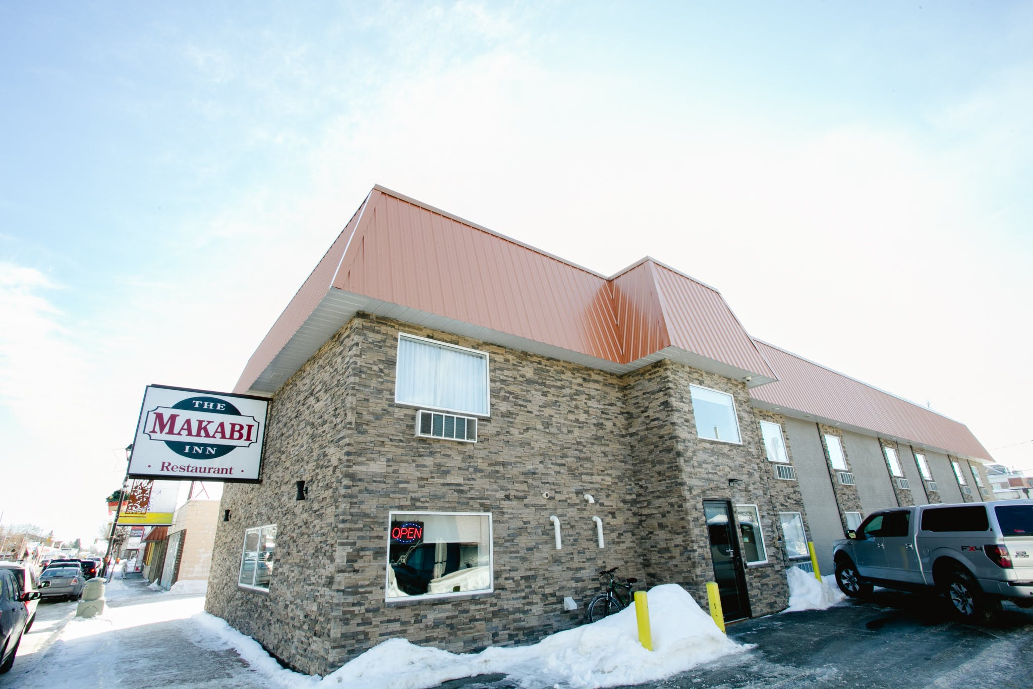 hotel front entrance. 325 Scott St, Fort Frances, ON P9A 1H1, Canada Phone: +1 807-274-5500