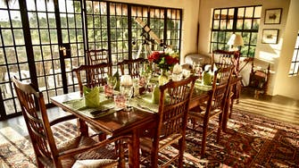 Olepangi Farm - The Party House and the dining room.