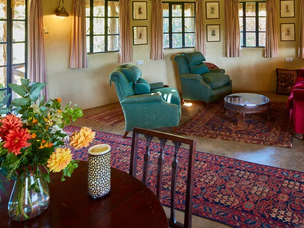 Olepangi Farm - The Round House sitting room 2