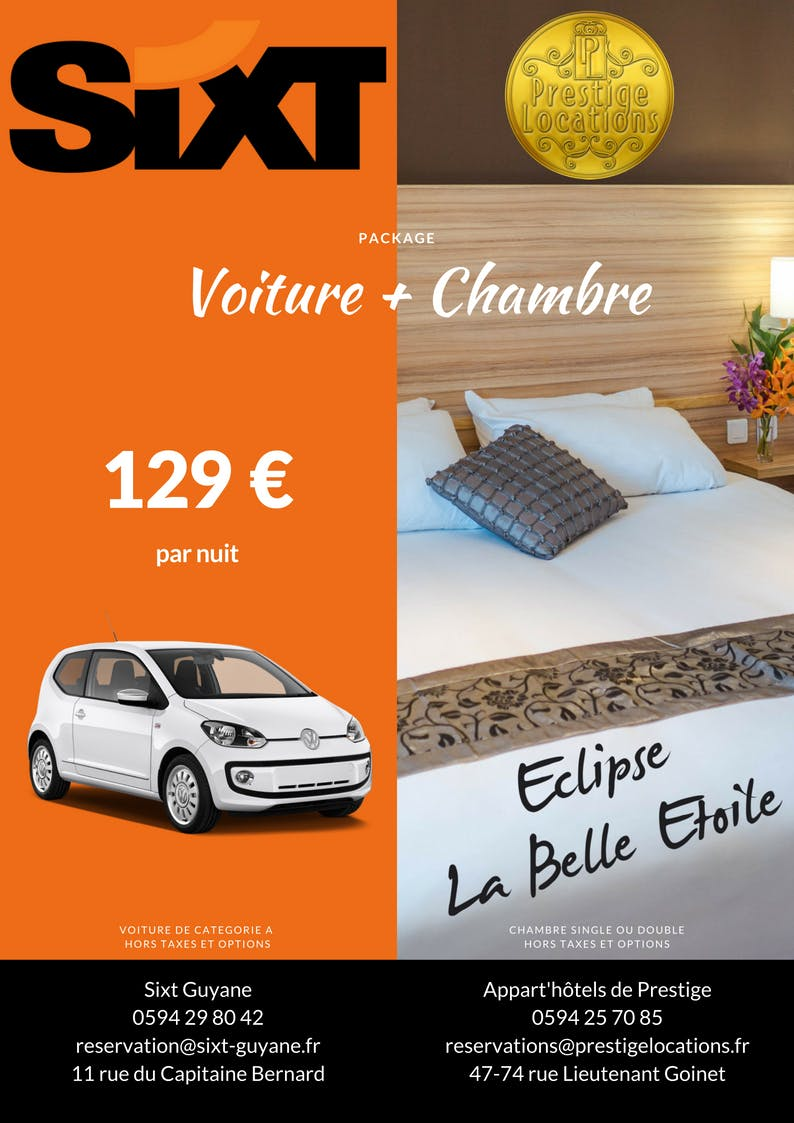 Package Car + Room with Sixt