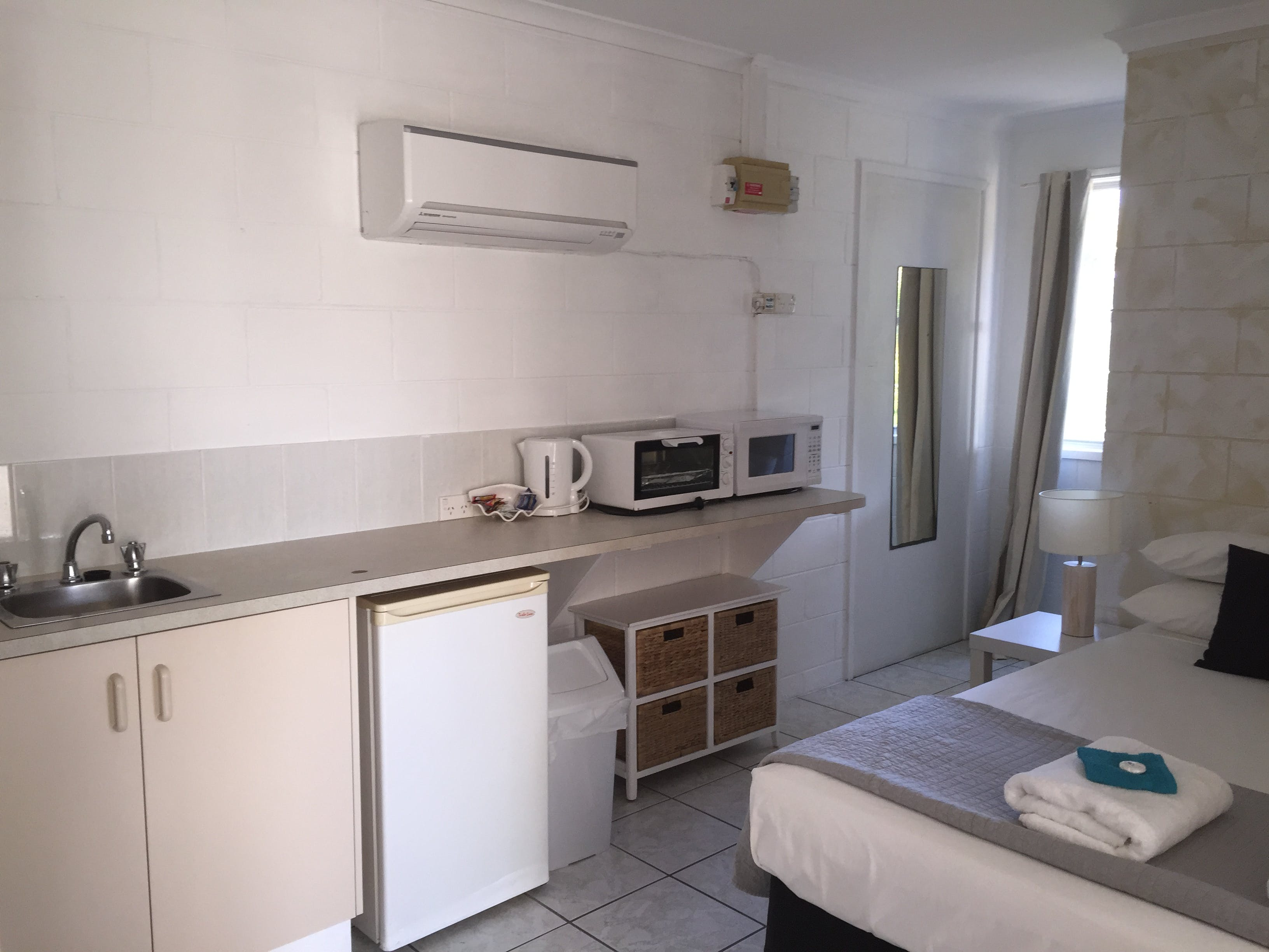 standard studio with kitchenette