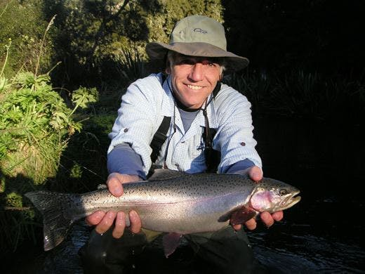 Lake Taupo fly fishing