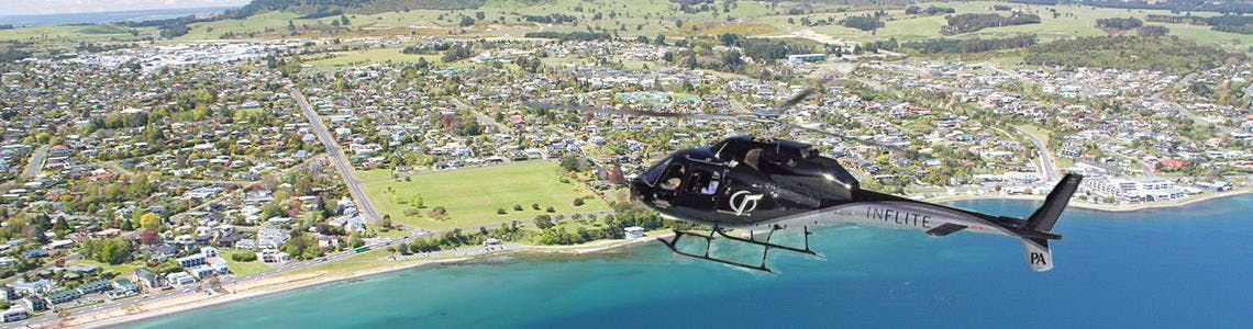 Lake Taupo helicopter rides