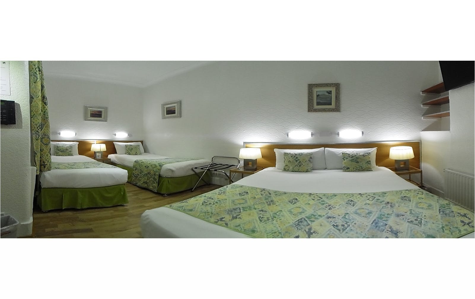 Boutique Hotel central London B&B Accommodation familyroom