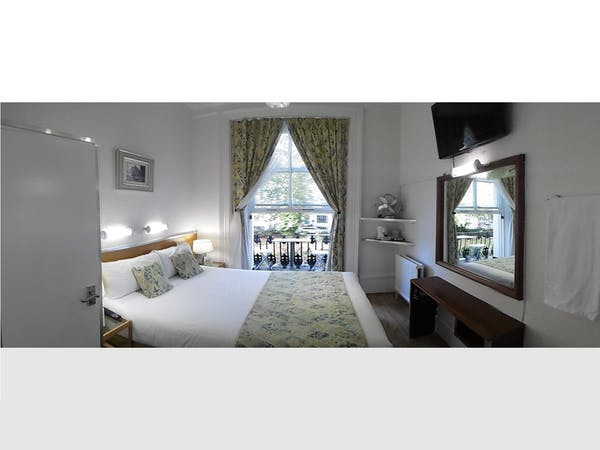 Boutique Hotel central London B&B Accommodationdouble room