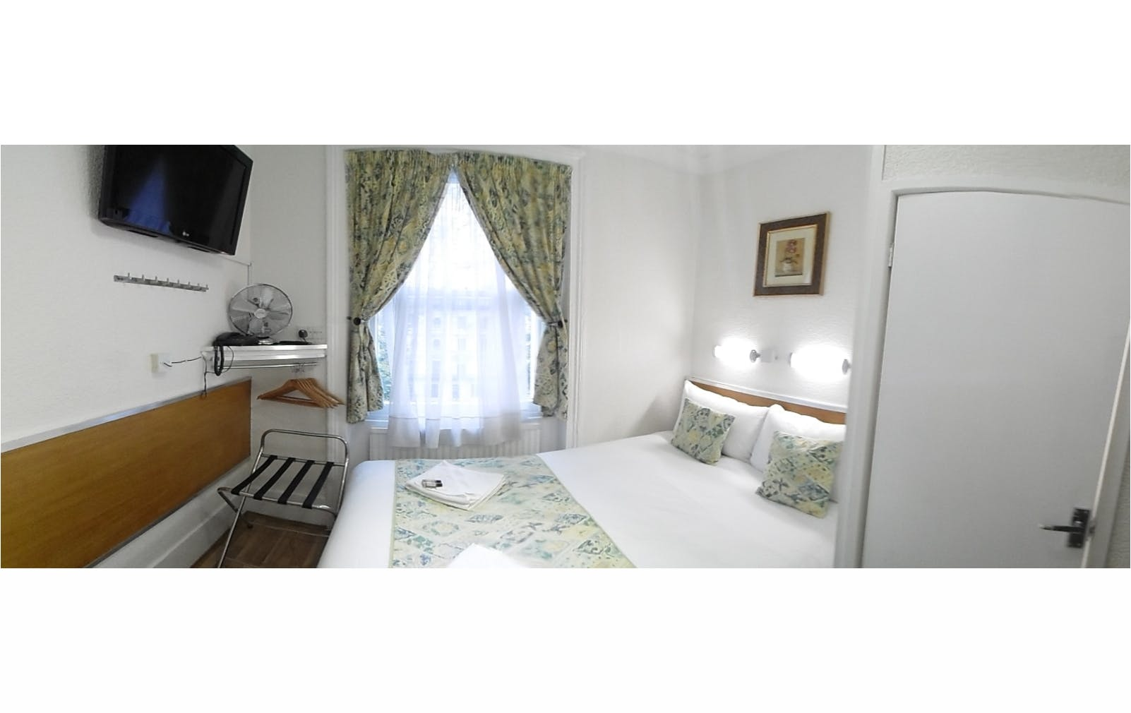Hotel central London B&B Accommodation double ensuite