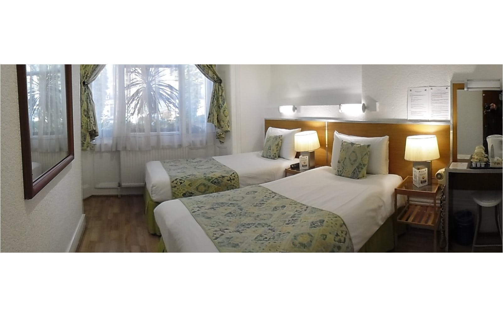 Boutique Hotel London Central B&B Twin Accommodation