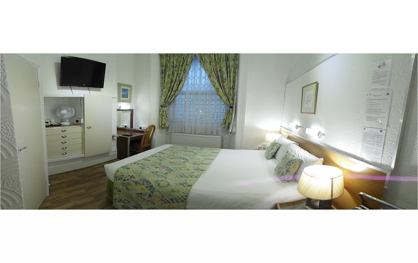 Boutique Hotel London Central B&B double ensuite Accommodation