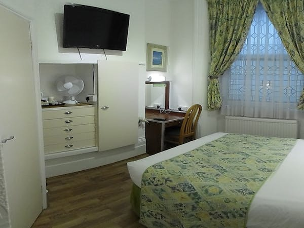 Boutique Hotel central London B&B Accommodation double 2
