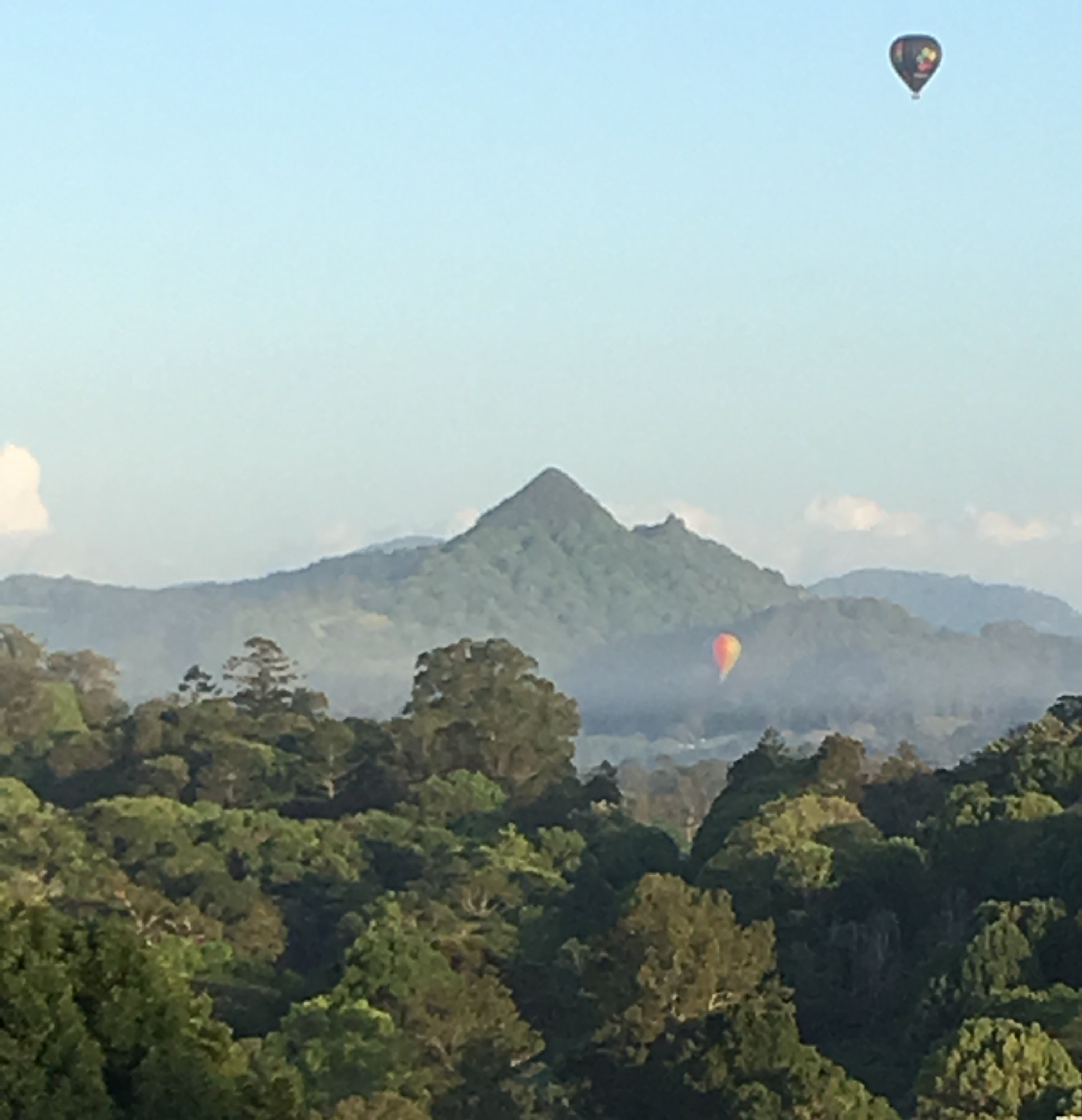 Ballooning over Mount Chincogan