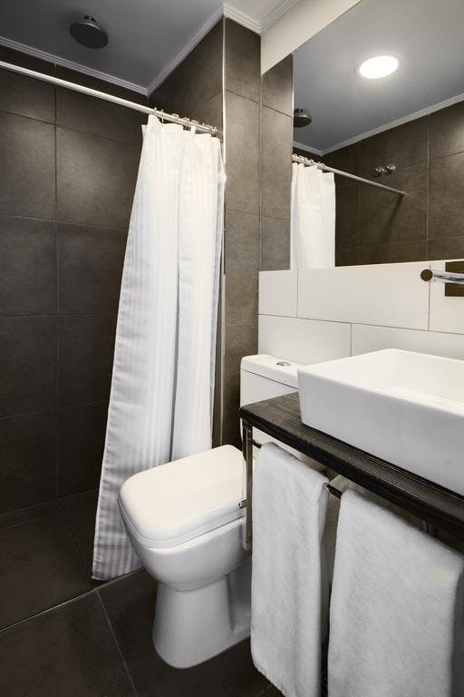 Bathroom Standard Double Room Alto San Isidro Hotel