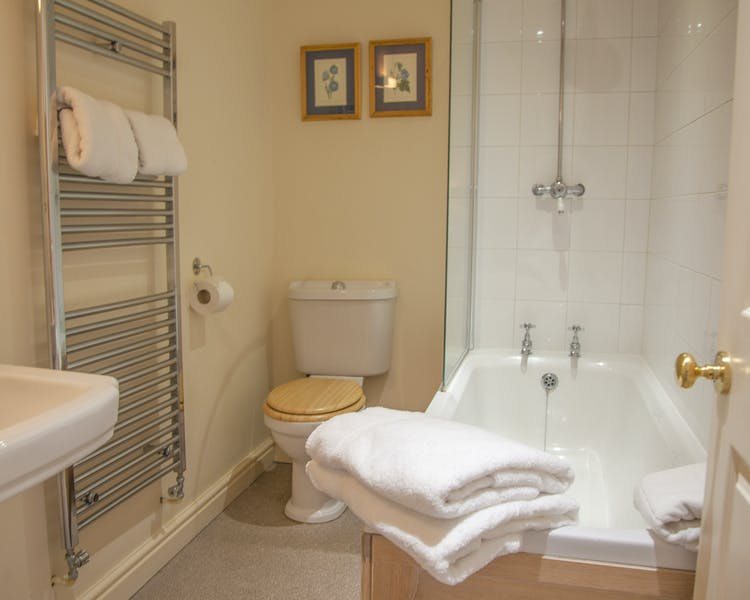 Bathroom The Wensleydale Hotel, Middleham, offers boutique accommodation in the heart of the Yorkshire Dales