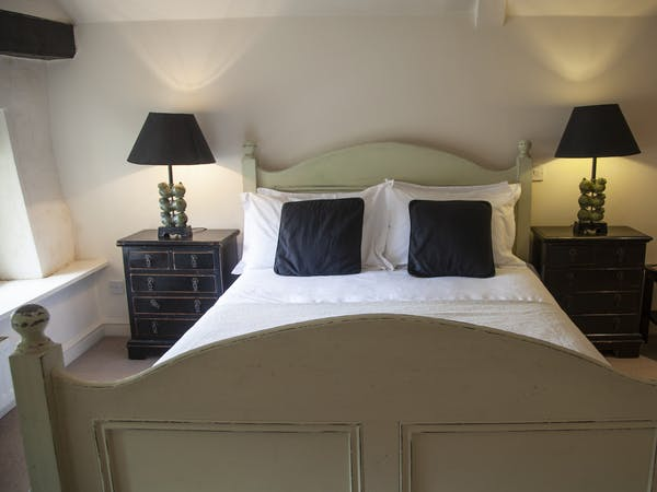 Double bedroom at The Wensleydale Hotel, Middleham, offers boutique accommodation in the heart of the Yorkshire Dales