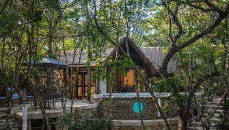 Jungle Villa Nah-ha with terrace and private pool