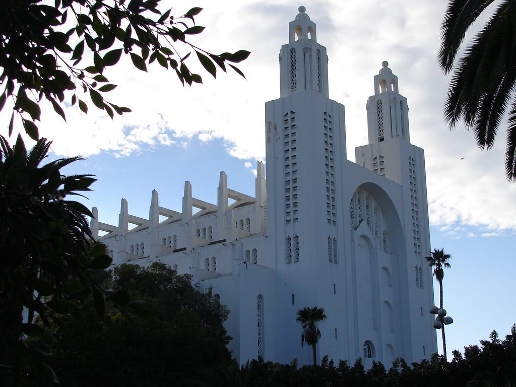 Église du Sacré-Cœur de Casablanca/ church of Sacré-Cœur of Casablanca