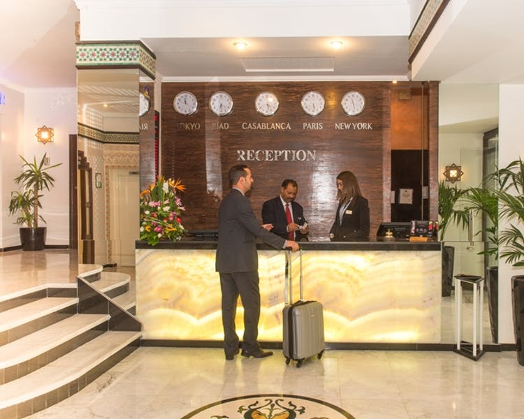 Reception Best western Casablanca